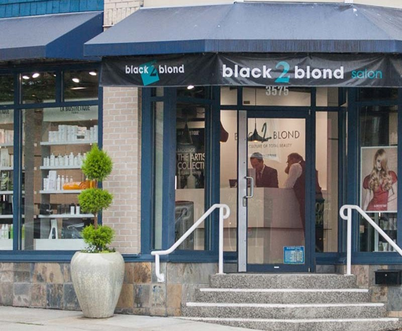 Black To Blonde Salon Shop